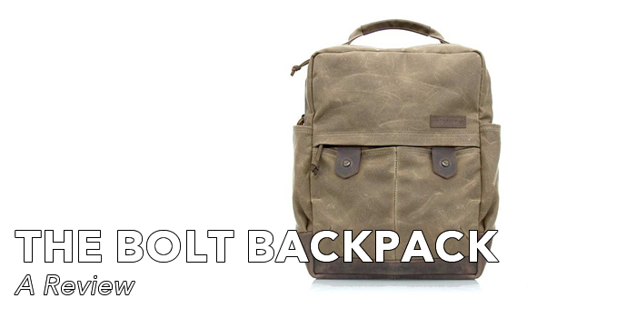 The Bolt Backpack | A Review